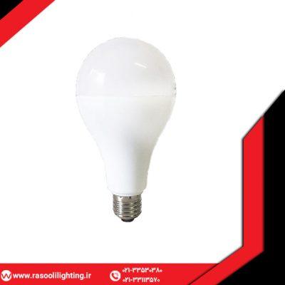 لامپ ال ای دی حبابی ۱۸ وات افراتاب