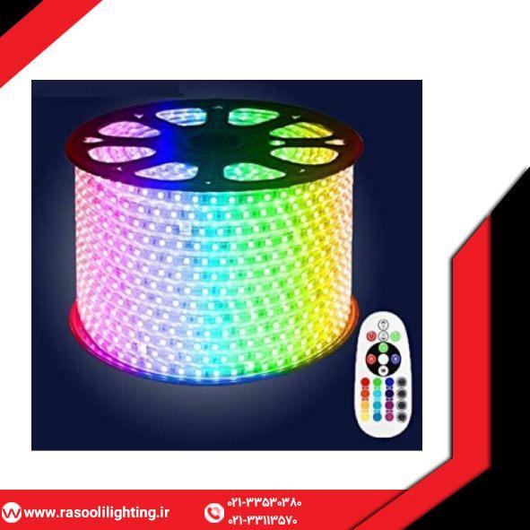 ریسه شلنگی SMD مدل 5050 RGB