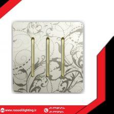کلید و پریز آسیا کریستال آنتیک